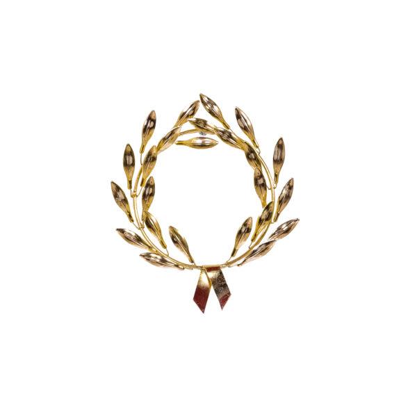 Διακοσμητικό Στεφάνι Ελιάς Χρυσό
